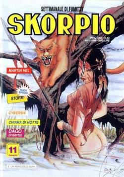 Copertina SKORPIO ANNO 23 n.43 - SKORPIO 1999            43, EDITORIALE AUREA