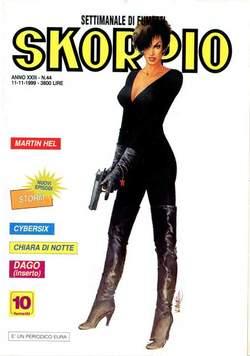 Copertina SKORPIO ANNO 23 n.44 - SKORPIO 1999            44, EDITORIALE AUREA