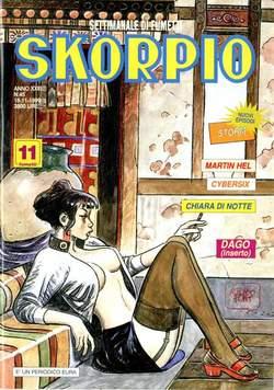 Copertina SKORPIO ANNO 23 n.45 - SKORPIO 1999            45, EDITORIALE AUREA
