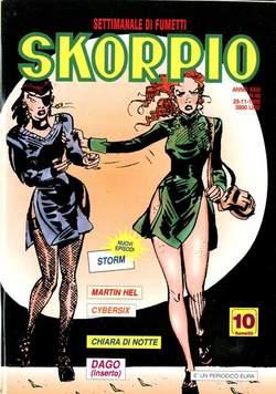 Copertina SKORPIO ANNO 23 n.46 - SKORPIO 1999            46, EDITORIALE AUREA