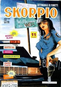 Copertina SKORPIO ANNO 23 n.48 - SKORPIO 1999            48, EDITORIALE AUREA