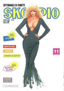Copertina SKORPIO ANNO 23 n.50 - SKORPIO 1999            50, EDITORIALE AUREA