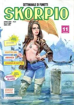 Copertina SKORPIO ANNO 23 n.51 - SKORPIO 1999            51, EDITORIALE AUREA
