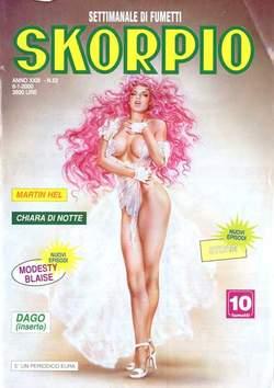 Copertina SKORPIO ANNO 23 n.52 - SKORPIO 1999            52, EDITORIALE AUREA