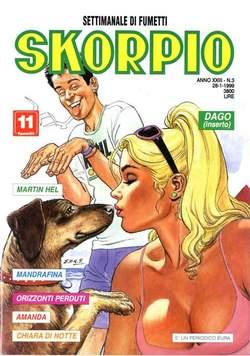 Copertina SKORPIO ANNO 23 n.3 - SKORPIO 1999             3, EDITORIALE AUREA