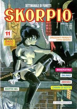 Copertina SKORPIO ANNO 23 n.5 - SKORPIO 1999             5, EDITORIALE AUREA