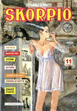 Copertina SKORPIO ANNO 24 n.11 - SKORPIO 2000            11, EDITORIALE AUREA