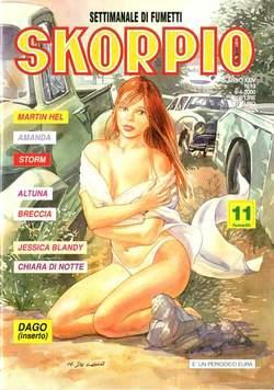 Copertina SKORPIO ANNO 24 n.13 - SKORPIO 2000            13, EDITORIALE AUREA
