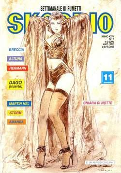 Copertina SKORPIO ANNO 24 n.17 - SKORPIO 2000            17, EDITORIALE AUREA