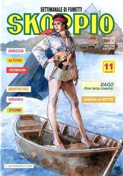 Copertina SKORPIO ANNO 24 n.18 - SKORPIO 2000            18, EDITORIALE AUREA