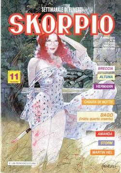 Copertina SKORPIO ANNO 24 n.19 - SKORPIO 2000            19, EDITORIALE AUREA