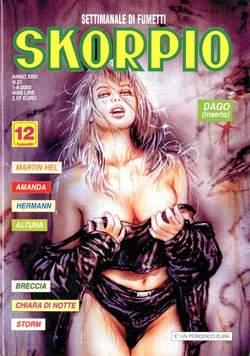 Copertina SKORPIO ANNO 24 n.21 - SKORPIO 2000            21, EDITORIALE AUREA