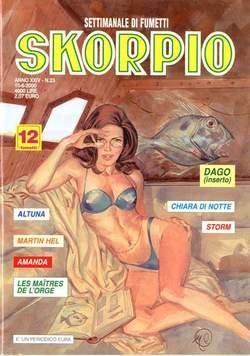 Copertina SKORPIO ANNO 24 n.23 - SKORPIO 2000            23, EDITORIALE AUREA