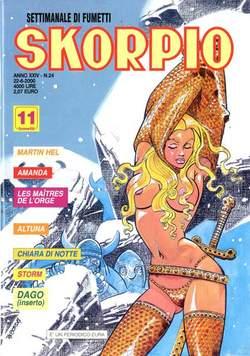 Copertina SKORPIO ANNO 24 n.24 - SKORPIO 2000            24, EDITORIALE AUREA