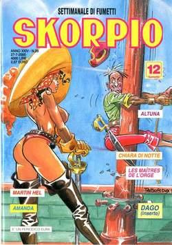 Copertina SKORPIO ANNO 24 n.29 - SKORPIO 2000            29, EDITORIALE AUREA