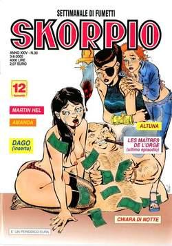 Copertina SKORPIO ANNO 24 n.30 - SKORPIO 2000            30, EDITORIALE AUREA