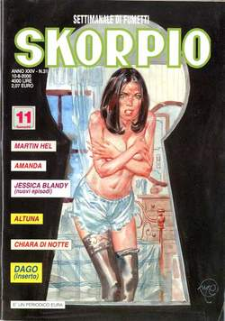 Copertina SKORPIO ANNO 24 n.31 - SKORPIO 2000            31, EDITORIALE AUREA