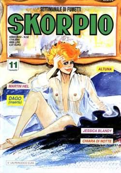 Copertina SKORPIO ANNO 24 n.32 - SKORPIO 2000            32, EDITORIALE AUREA