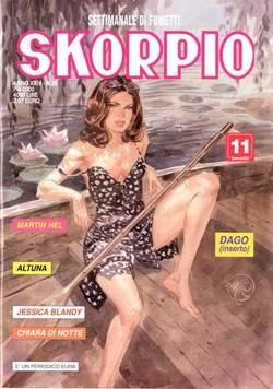 Copertina SKORPIO ANNO 24 n.35 - SKORPIO 2000            35, EDITORIALE AUREA