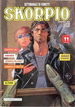 Copertina SKORPIO ANNO 24 n.37 - SKORPIO 2000            37, EDITORIALE AUREA