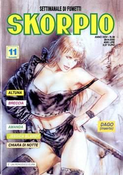 Copertina SKORPIO ANNO 24 n.38 - SKORPIO 2000            38, EDITORIALE AUREA
