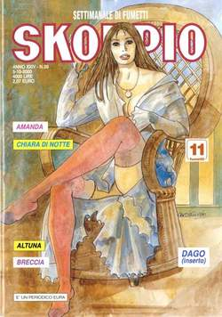 Copertina SKORPIO ANNO 24 n.39 - SKORPIO 2000            39, EDITORIALE AUREA