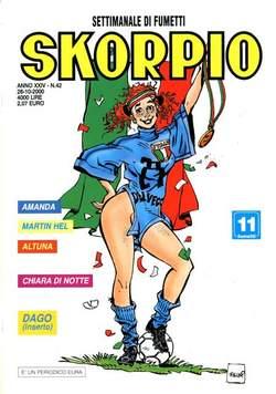 Copertina SKORPIO ANNO 24 n.42 - SKORPIO 2000            42, EDITORIALE AUREA