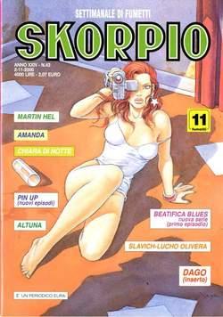Copertina SKORPIO ANNO 24 n.43 - SKORPIO 2000            43, EDITORIALE AUREA