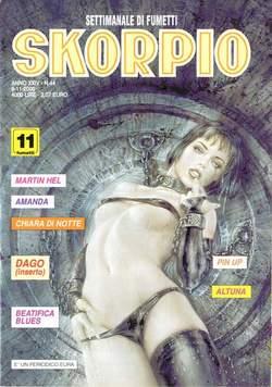 Copertina SKORPIO ANNO 24 n.44 - SKORPIO 2000            44, EDITORIALE AUREA