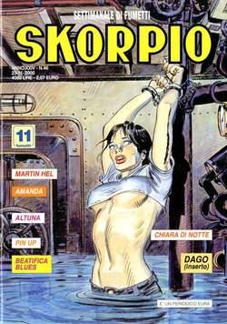 Copertina SKORPIO ANNO 24 n.46 - SKORPIO 2000            46, EDITORIALE AUREA
