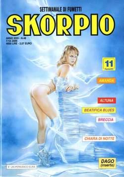 Copertina SKORPIO ANNO 24 n.48 - SKORPIO 2000            48, EDITORIALE AUREA