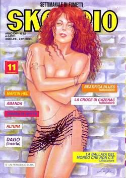Copertina SKORPIO ANNO 24 n.52 - SKORPIO 2000            52, EDITORIALE AUREA