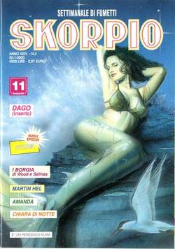 Copertina SKORPIO ANNO 24 n.2 - SKORPIO 2000             2, EDITORIALE AUREA