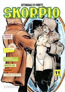 Copertina SKORPIO ANNO 24 n.3 - SKORPIO 2000             3, EDITORIALE AUREA