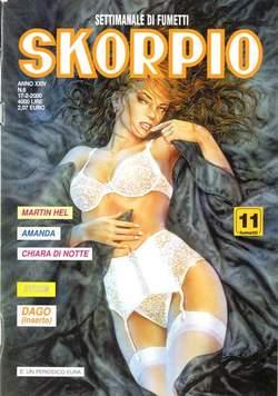 Copertina SKORPIO ANNO 24 n.6 - SKORPIO 2000             6, EDITORIALE AUREA