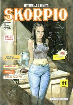 Copertina SKORPIO ANNO 24 n.4 - SKORPIO 2000             4, EDITORIALE AUREA