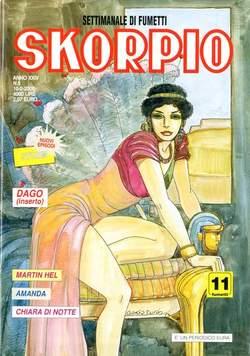 Copertina SKORPIO ANNO 24 n.5 - SKORPIO 2000             5, EDITORIALE AUREA