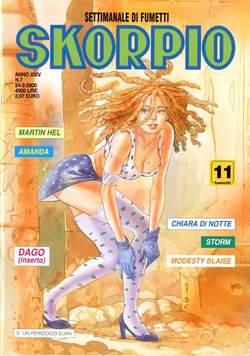 Copertina SKORPIO ANNO 24 n.7 - SKORPIO 2000             7, EDITORIALE AUREA