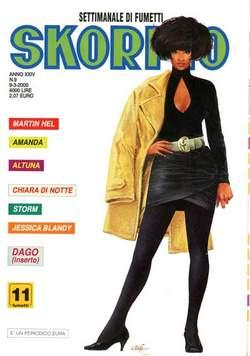 Copertina SKORPIO ANNO 24 n.9 - SKORPIO 2000             9, EDITORIALE AUREA