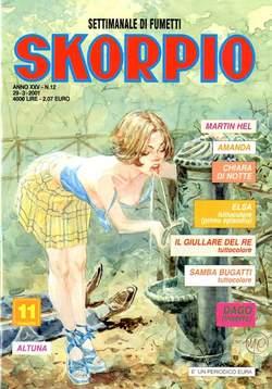 Copertina SKORPIO ANNO 25 n.12 - SKORPIO 2001            12, EDITORIALE AUREA