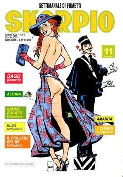 Copertina SKORPIO ANNO 25 n.14 - SKORPIO 2001            14, EDITORIALE AUREA