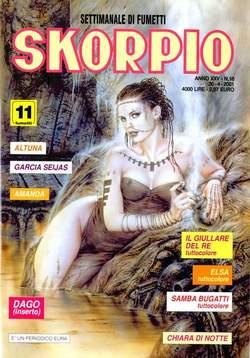 Copertina SKORPIO ANNO 25 n.16 - SKORPIO 2001            16, EDITORIALE AUREA