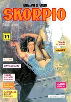 Copertina SKORPIO ANNO 25 n.17 - SKORPIO 2001            17, EDITORIALE AUREA
