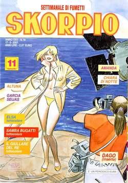 Copertina SKORPIO ANNO 25 n.19 - SKORPIO 2001            19, EDITORIALE AUREA