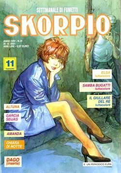 Copertina SKORPIO ANNO 25 n.21 - SKORPIO 2001            21, EDITORIALE AUREA