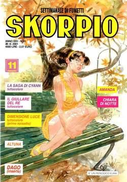 Copertina SKORPIO ANNO 25 n.25 - SKORPIO 2001            25, EDITORIALE AUREA