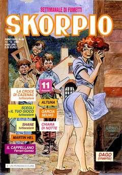 Copertina SKORPIO ANNO 25 n.49 - SKORPIO 2001            49, EDITORIALE AUREA