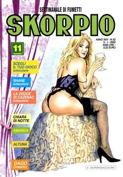Copertina SKORPIO ANNO 25 n.52 - SKORPIO 2001            52, EDITORIALE AUREA