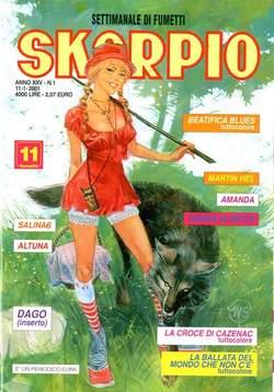 Copertina SKORPIO ANNO 25 n.1 - SKORPIO 2001             1, EDITORIALE AUREA