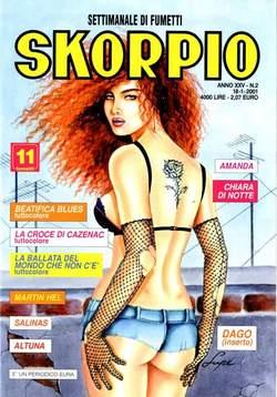 Copertina SKORPIO ANNO 25 n.2 - SKORPIO 2001             2, EDITORIALE AUREA